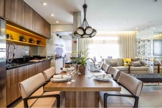Cozinha Integrada Sala de Jantar