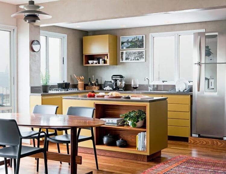 Cozinha em conceito aberto: 4 ideias para inovar com estilo