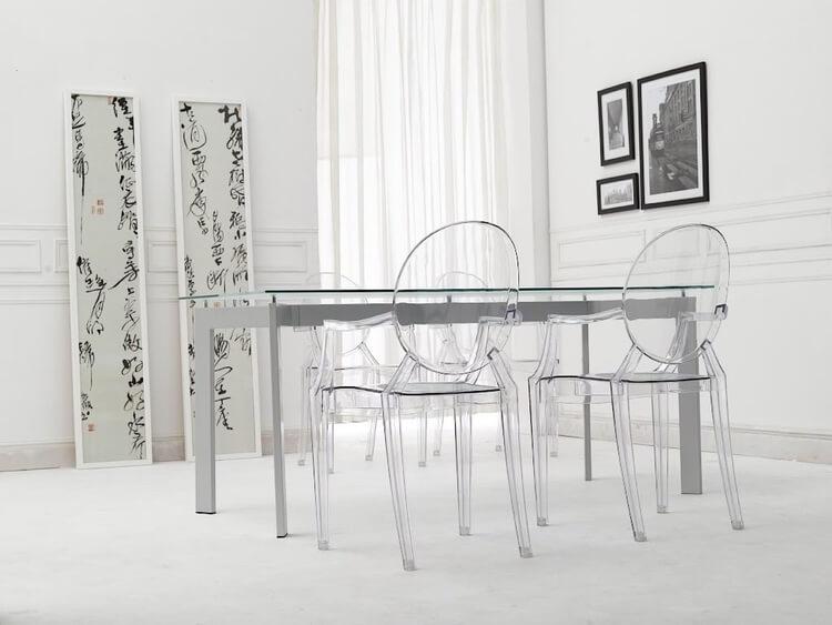 Cadeira Ghost para Sala de Jantar: inovando de vez na sua decoração