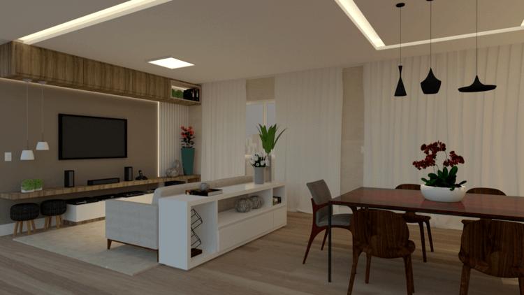 3 dicas para decorar sala de estar e jantar integradas