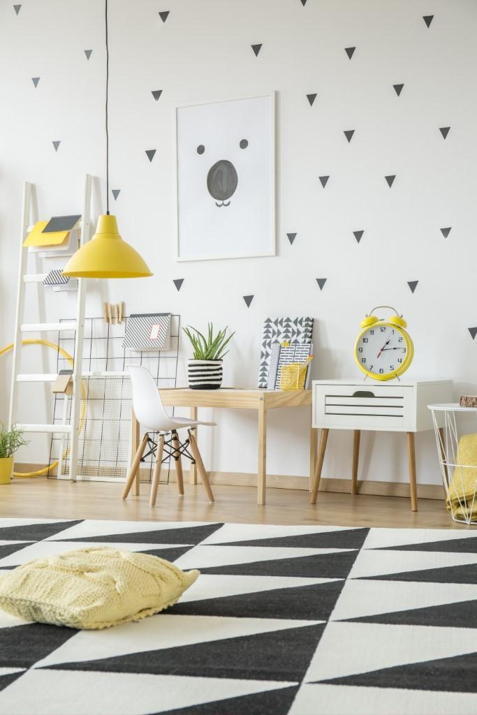 Pinturas geométricas na parede de sua casa: dicas e tendências