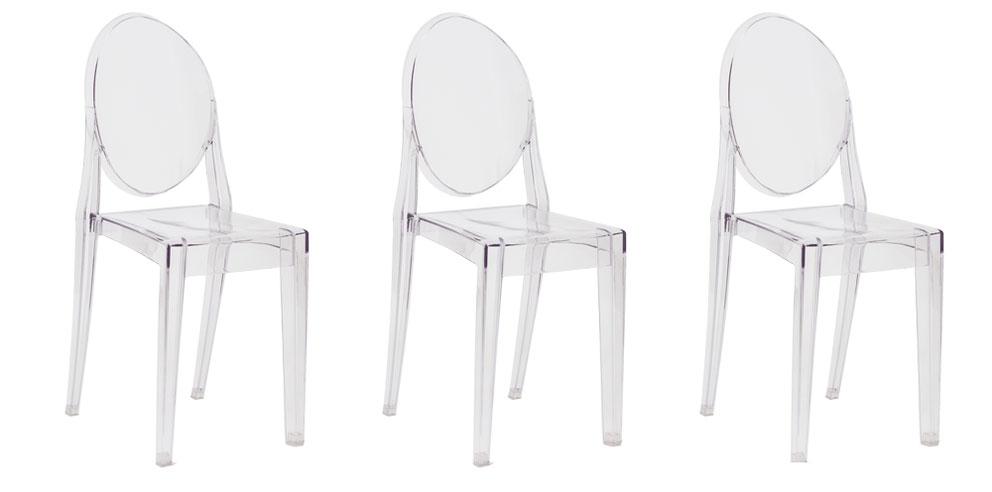 Cadeira Victoria Ghost: elegante, versátil e ótima para a sua casa!