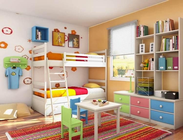 5 ideias para a decoração de quarto infantil