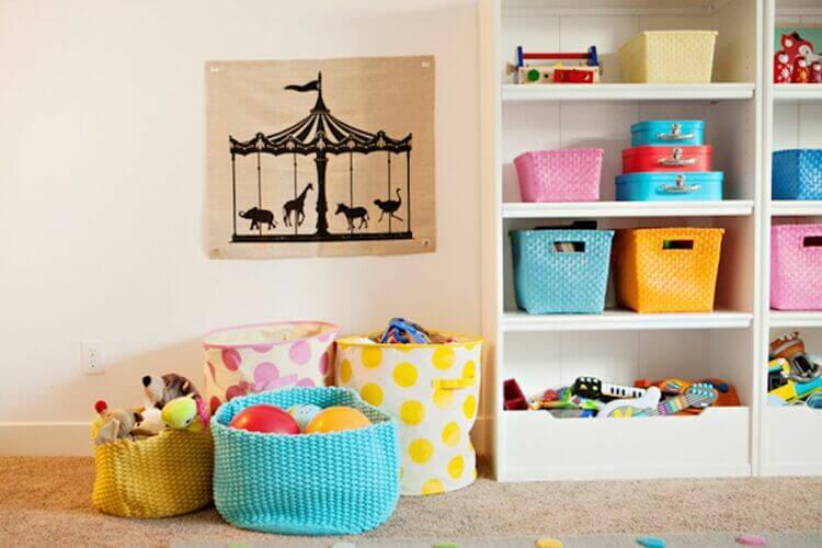 Ideias incríveis para criar um quarto de brincar