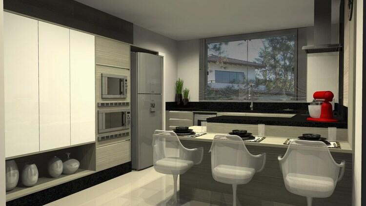 Cozinha moderna: móveis e itens indispensáveis